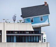 The Fallen Star, la maison en apesanteur à La Jolla