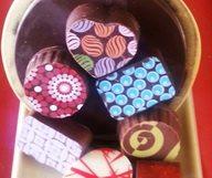 Du chocolat, ici et maintenant