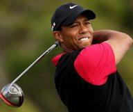 Tiger Woods sort les crocs