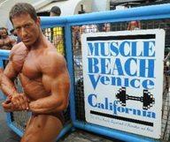 Muscle beach, la plage des bodybuilders à Venice