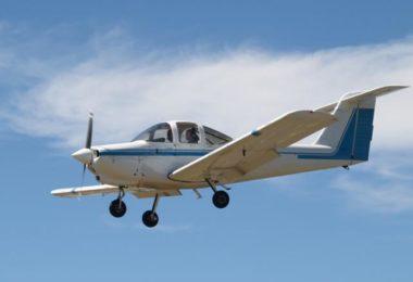 Survol de la baie de LA en petit avion