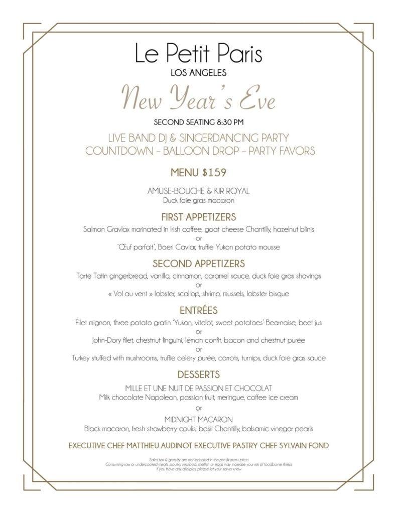 le-petit-paris-menu-new-years-eve-2nd-service