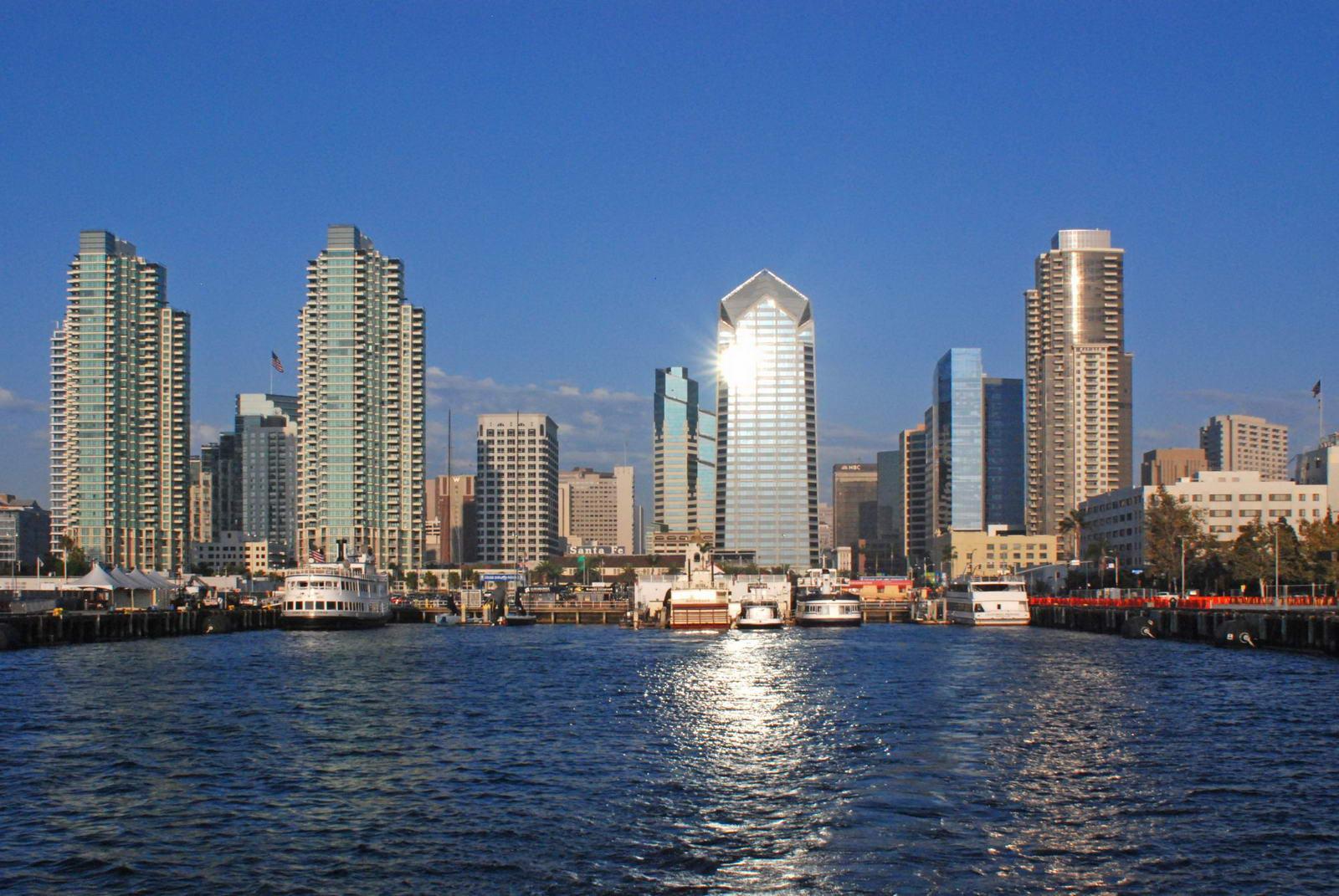 Les quartiers de San Diego