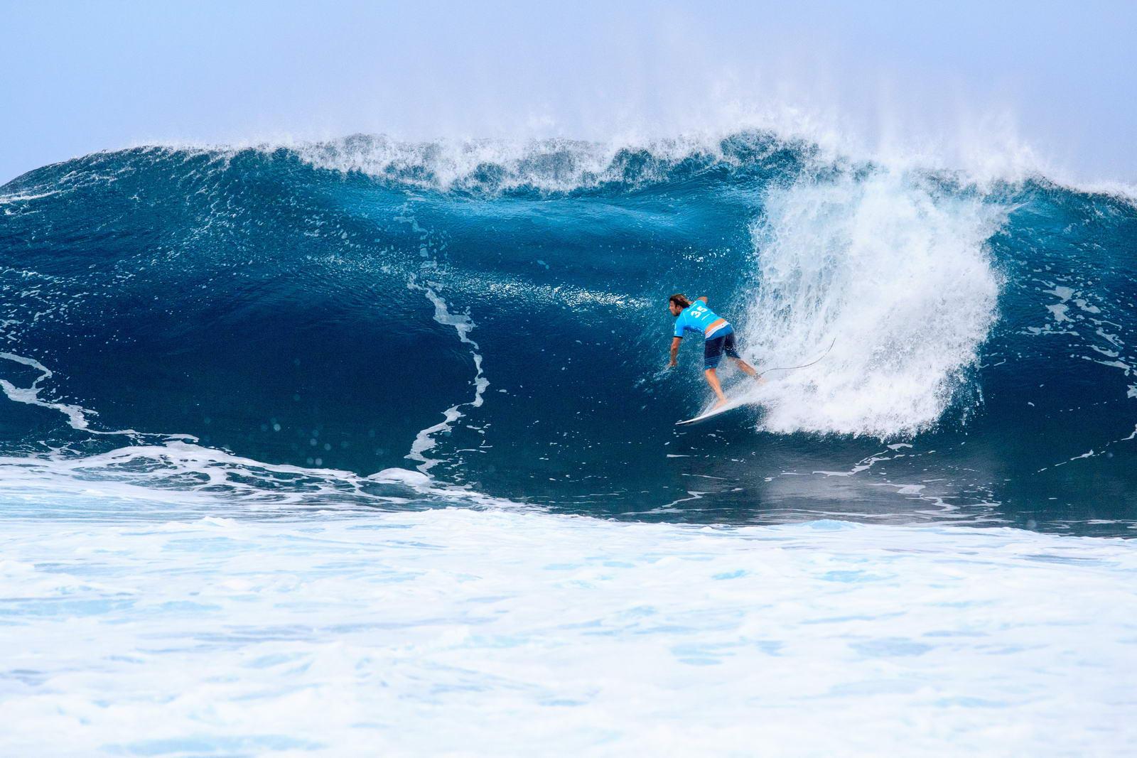 Surfer en Californie