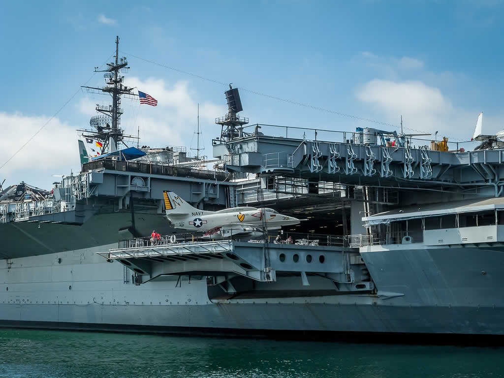 L'USS Midway Museum à San Diego