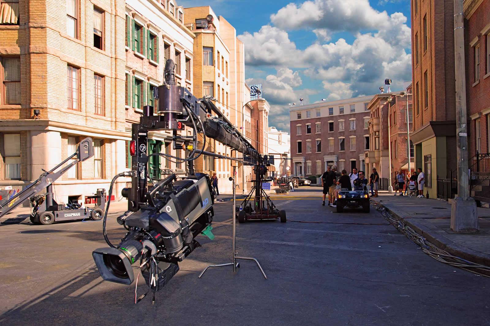 Visite des studios Paramount à Hollywood