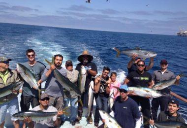 Sortie pêche en haute mer