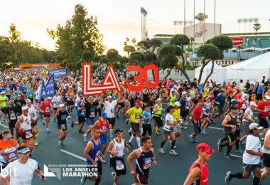 Le marathon de Los Angeles