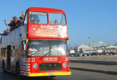 La cité des anges en bus impérial