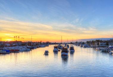 Visiter Balboa Island dans la baie de Newport Beach - Ile, Boutiques, Restaurants, Vacances
