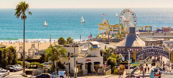 Une journée à Santa Monica