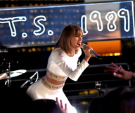 Tailor Swift au Staples Center