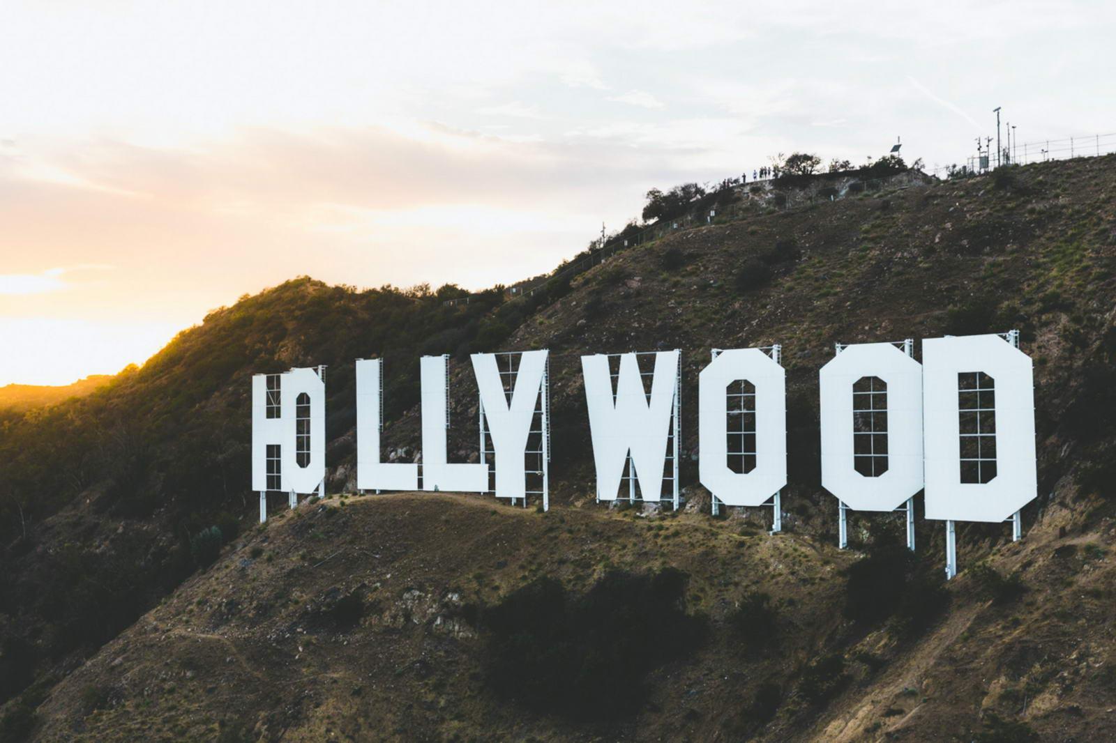 Le panneau Hollywood à Los Angeles