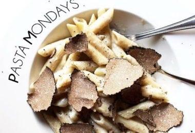 Le lundi, c'est pâtes à la truffe