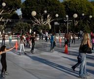 Glissez sur l'une des patinoires de Los Angeles