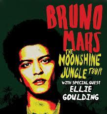 Bruno Mars et Ellie Goulding en concert le 28 juillet 2013