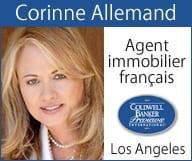 Corinne Allemand - Agent immobilier français Los Angeles