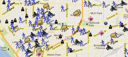 Les sites de Crime Mapping