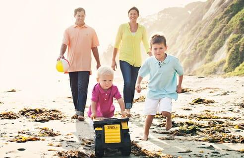 S'occuper en famille à Santa Barbara