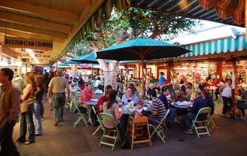 Le Farmers Market à Los Angeles