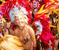 Carnaval, couleurs et chaleur au Gaslamp Quarter