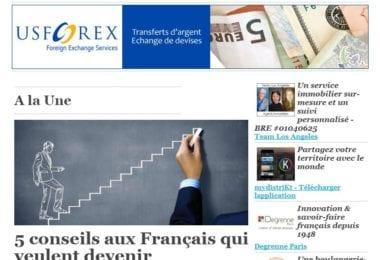 La newsletter French District Boston du Jeudi 17 Septembre 2015 - 5 conseils aux Francais qui veulent devenir entrepreneurs aux Etats-Unis