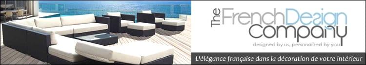 The French Design Company est un créateur et fabricant de mobilier d'extérieur élégant
