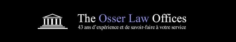Avocat francophone - The osser law