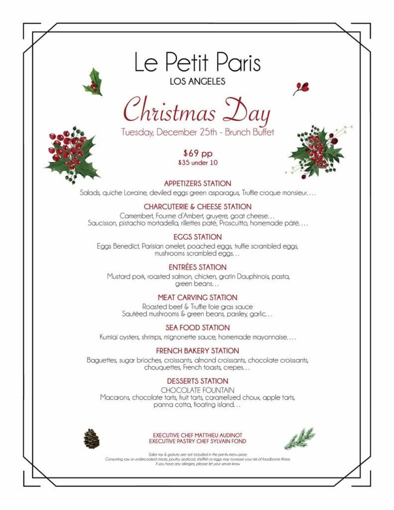 le-petit-paris-brunch-buffet-noel-25-decembre-2018