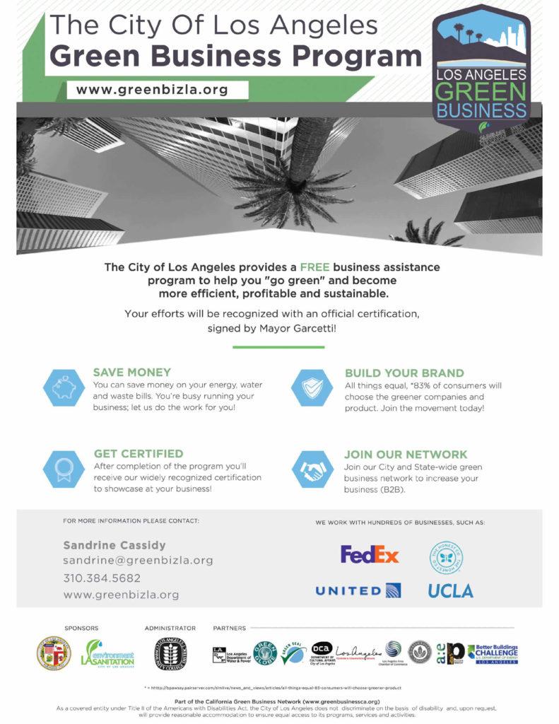 los-angeles-green-business-program-aide-gratuit-entreprises-flyer