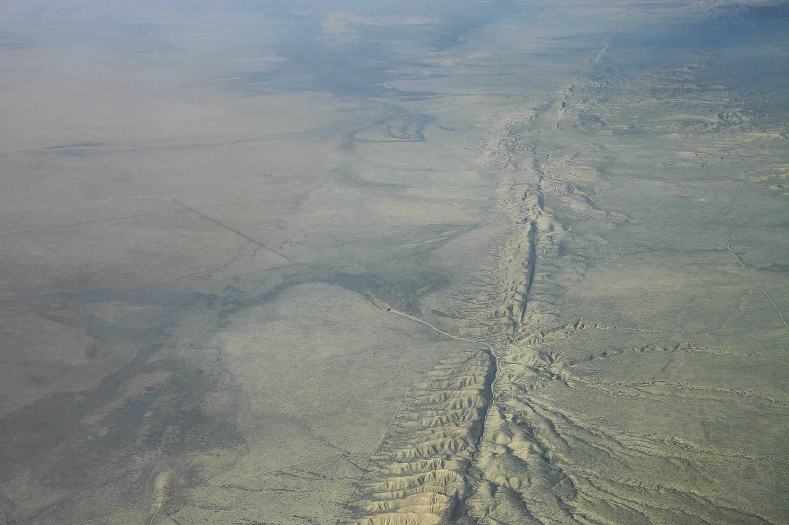 Au cœur de la faille de San Andreas