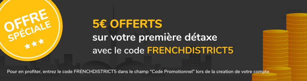 Banner Promo Code - French District