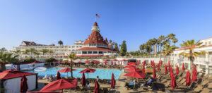 Historical Hotel del Coronado at San Diego