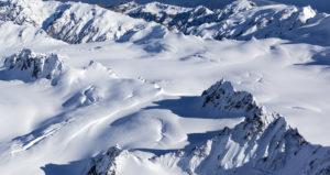 New Zealand snow mountains