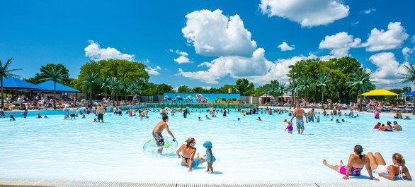 Quelques parcs aquatiques près de Chicago
