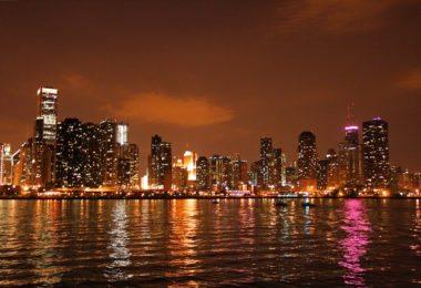 Découverte de Chicago, de nuit