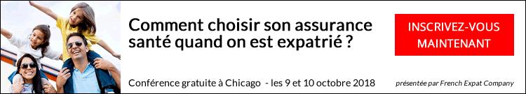 French Expat Company en tournée, conférence Chicago