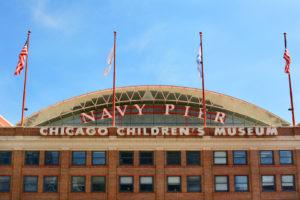 Façade du Children Museum au Navy Pier à Chicago — Photo par scukrov