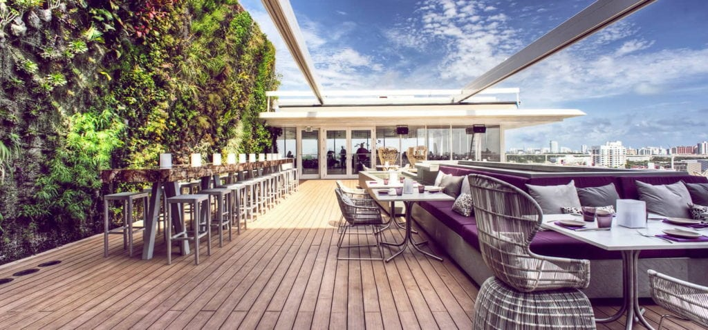 Les immanquables de Miami - Les 5 meilleurs rooftops