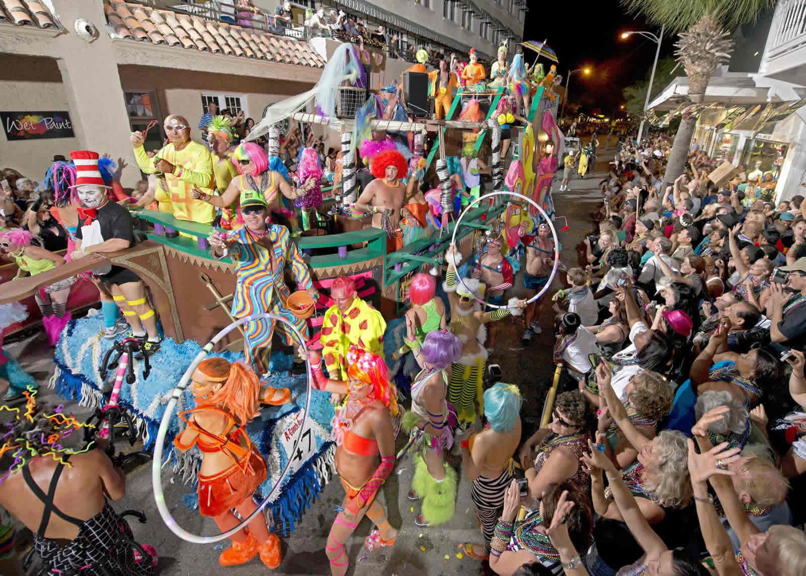La Fantasy Fest à Key West
