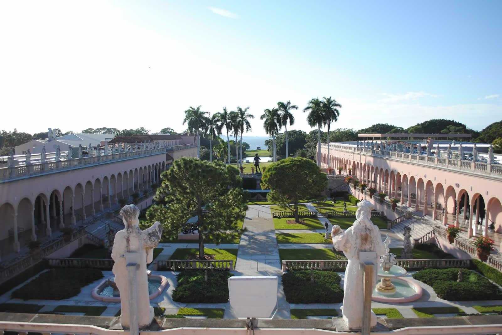 Ringling Museum, sous le plus grand chapiteau du monde à Sarasota