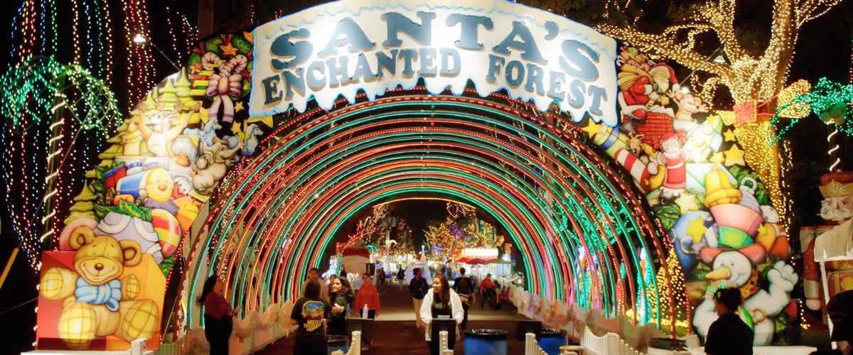 santa-enchanted-forest-miami-une
