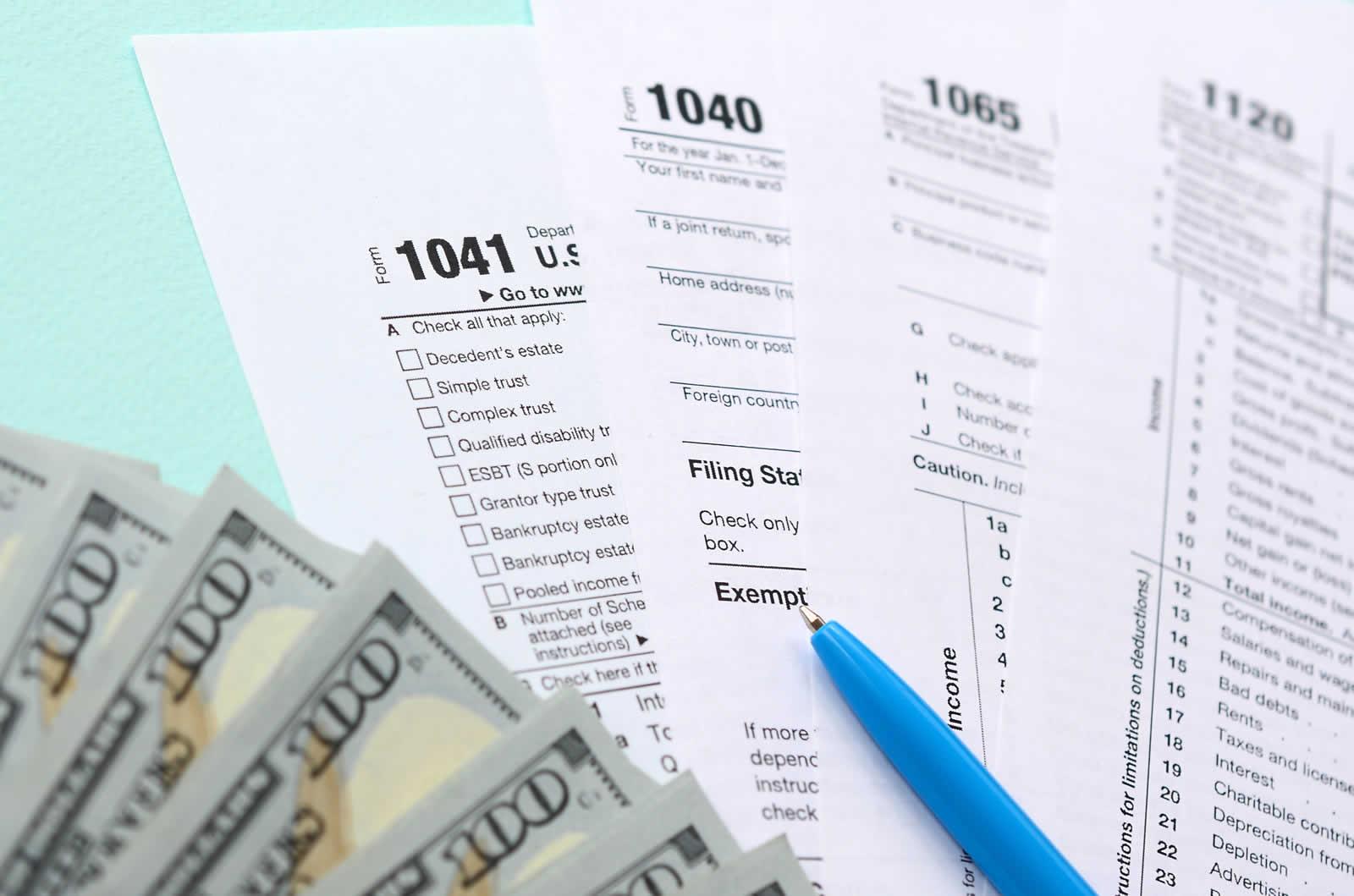 Le jargon des formulaires fiscaux en Floride