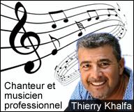 Thierry Khalfa – Chanteur