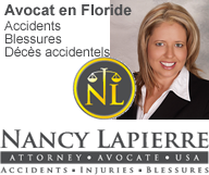 Nancy LAPIERRE - Avocat - Accident Floride