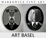 Art Basel en photos à la Galerie Markowicz Fine Art