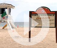 La plage de Fort Lauderdale