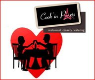 Une St Valentin délicieuse grâce au menu spécial concocté par Cook'In Paris