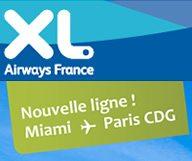 Nouvelle ligne Low Cost entre Miami et Paris !