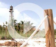 La plage de l'île de Sanibel, sur la côte ouest de la Floride